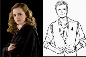 Hermione and Gansey