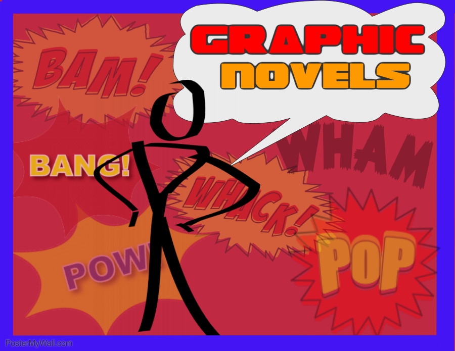 Graphic Novels - Made with PosterMyWall