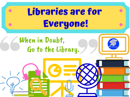 Libraries are for Everyone! (1)